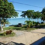 Corozal Bay, seen from the veranda