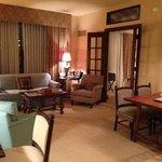 Living Room/ Dinette area