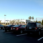 Parking Area with Plaza Shops