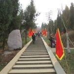 The steps upto the Dao area