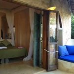 My room at Baraka House (#5) and veranda