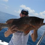 Grouper fishing offshore of Carrabelle Florida