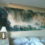 Beijing Room, beautiful wall painting