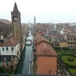 Venise depuis le palais Ca' Rezzonico