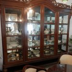Some nice collections of china in the restaurant