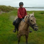 After the beach gallops at Dingle horse riding