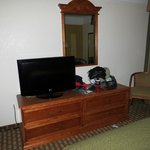 Drawer HDTV with basic channels
