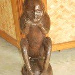 Monkey statue
