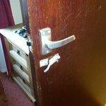 Bathroom Door Lock Room 5!