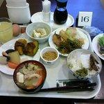 朝食バイキング(1巡目 和食分)