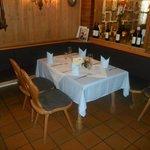 Tisch im Restaurant