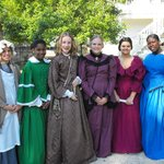 """""""Living History Day"""" with Girl Scouts of Gateway Council / 4-6-2013 come and see us!"""