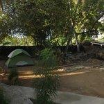 Espace camping.