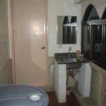 accès salle de bain