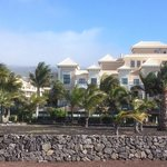 View of hotel from sea front