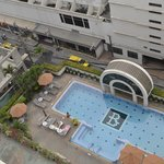 Looking down onto pool and Soi 5
