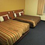 zwei große Betten