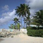 Beach and terrace, Dover Beach Hotel