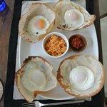 Four Egg Hoppers