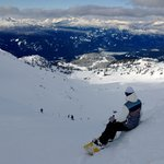 View from the Saddle, Whistler Peak