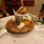 Cheeseplatter zum Dessert
