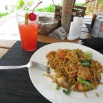 One of the 150BHT lunch stir fries, value for money!