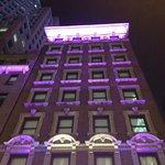 La façade... et seulement 9 étages ;-)