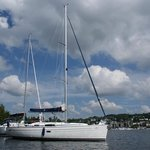 Anchored on the Lake