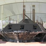 USS Cairo restoration at Vicksburg