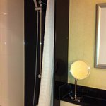 Bathroom - shower & tub combination