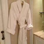 lovely bathrobe
