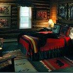 Bear's Den, one of 7 unique Northwoods rooms