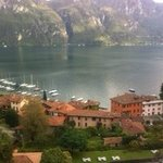View overlooking Lake Como