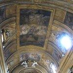 Ceiling of Chiesa di Gesu e Maria
