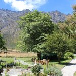 View from the back garden, The Remarkables