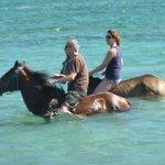 Horseriding at Cas en Bas