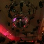 Night Club Photo. Told it was 2nd largest disco ball in the
