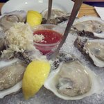 Delicious oysters...yummy!
