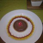 Our Chocolate Tart Dessert
