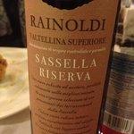vino della Valtellina ottimo