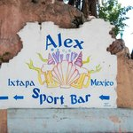 Sign to Alex's