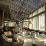 Strathearn restaurant - conservatory for breakfast