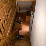 Vue de l'escalier mezzanine
