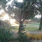 vue du golf qui entoure l'hôtel