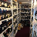 A great wine selection