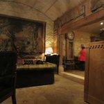 Café la Serre - The lounge/reception at Shackleton Mill