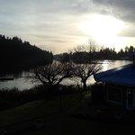 Long Lake from the balcony at Inn on Long Lake
