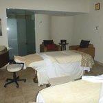 Private spa room