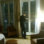Room 203, with a view of the Champs-Elysees