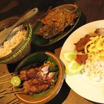 The typical Sundanese food - yum